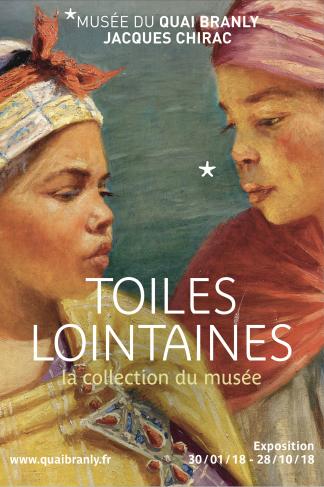Affiche Toiles lointaines, remplacée par Peintures des Lointains, voir sur Portfolio.